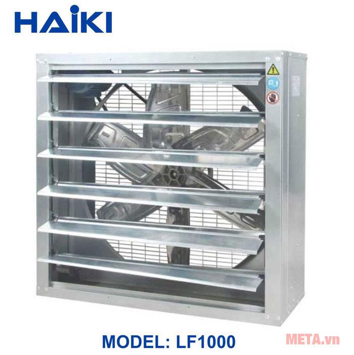 Quạt hút gió công nghiệp vuông HAIKI LF1000