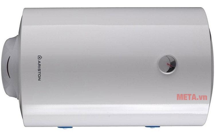 Bình nóng lạnh Ariston Pro R 50 SH 2.5 FE có thiết kế hình trụ nằm ngang