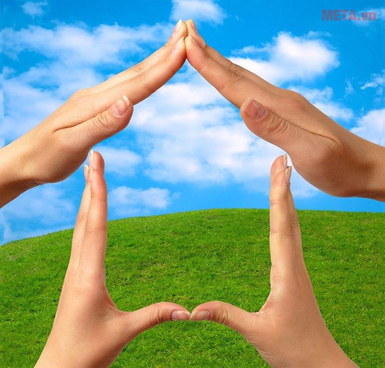 Bình giúp tiết kiệm điện và thân thiện với môi trường