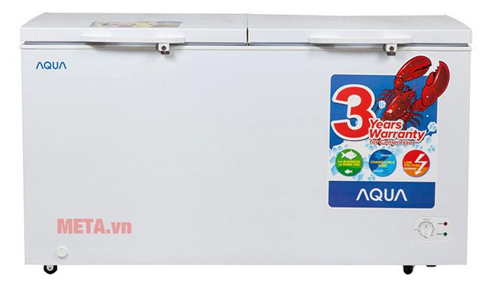 Tủ đông mát Aqua AQF-R390 255 lít 2 ngăn