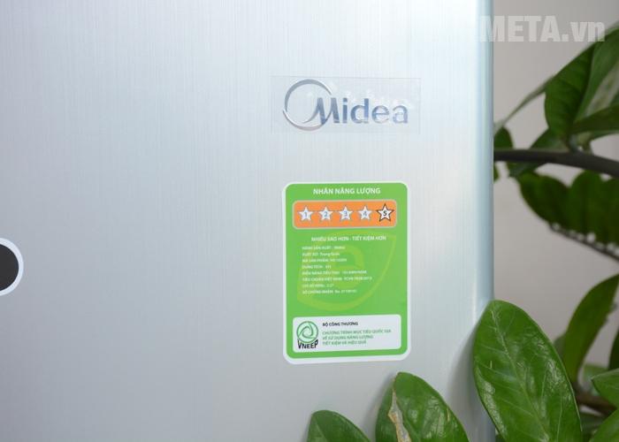 Nhẵn năng lượng tủ lạnh mini Midea
