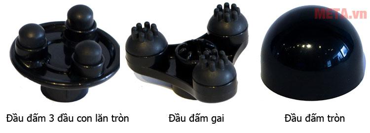 Máy massage cầm tay 3 đầu đấm