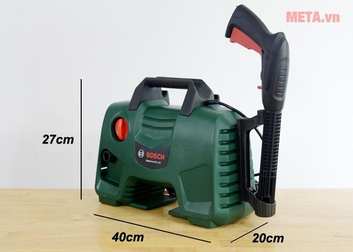 Kích thước máy rửa xe Bosch Easy Aquatak 110