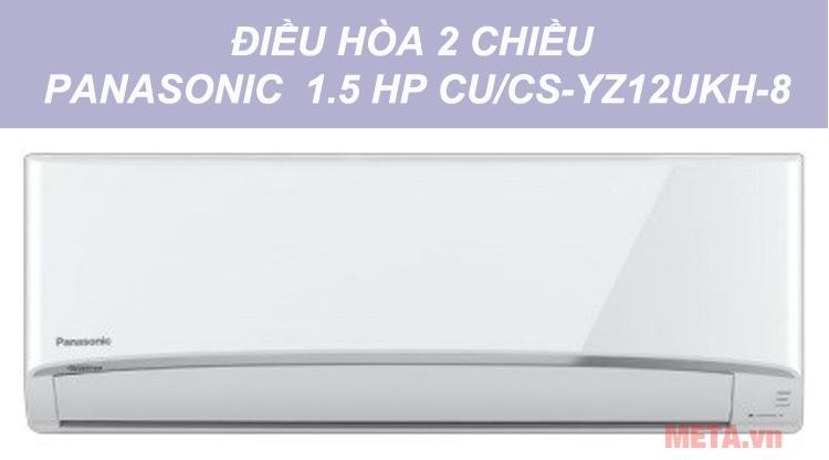 Hình ảnh máy lạnh 2 chiều Panasonic 1.5 HP CU/CS-YZ12UKH-8