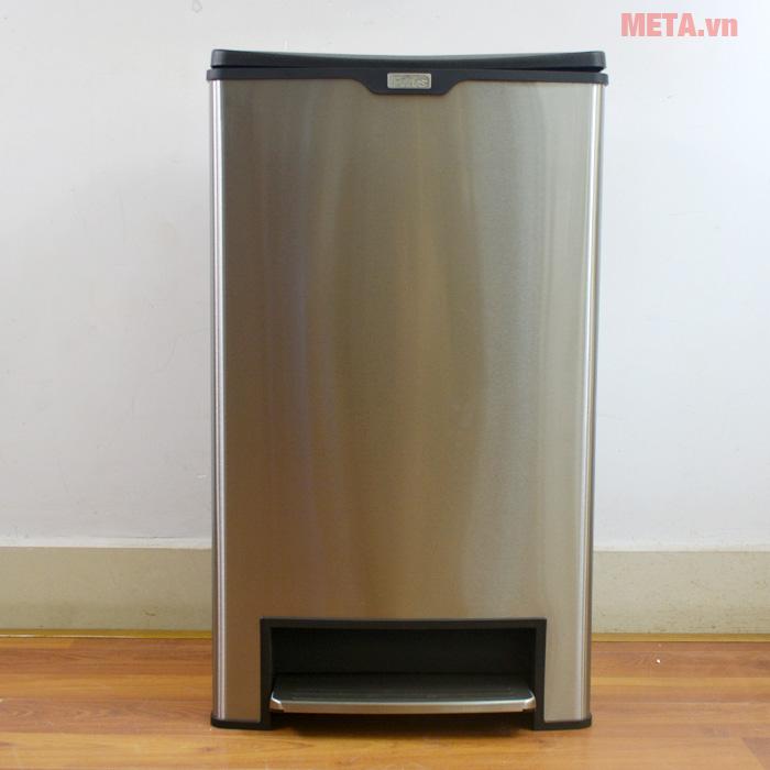 Thùng rác Fitis Mega SPL2-901 - 40 lít (bạc)