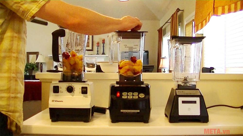 Tư vấn chọn mua máy xay sinh tố cho quán nước, quán cà phê...