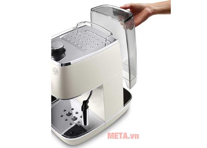 Máy pha cà phê ECI341.W có bình nước dung tích 1 lít