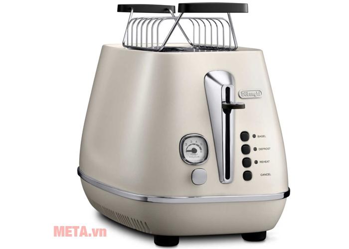 Máy nướng bánh CTI2003.W có màu sắc sang trọng