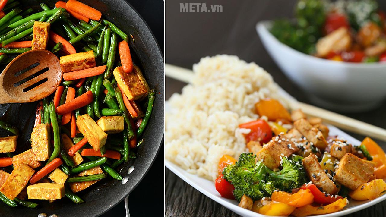Cần cảnh giác đồ ăn chay vì chứa 1 lượng chất béo cao