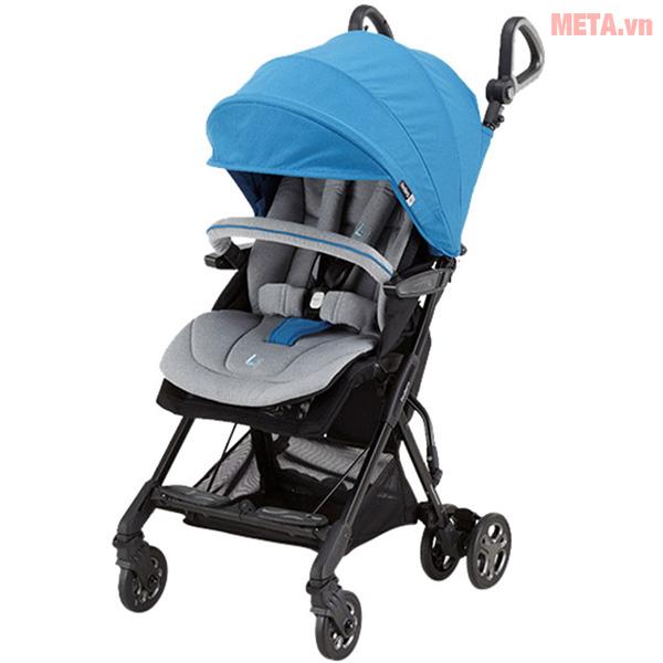 Xe đẩy em bé cao cấp Fedora FED-L1 màu xanh dương.