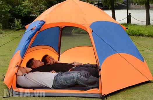 Lều trại phù hợp 3 - 5 người