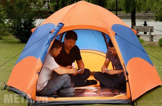 Lều du lịch Halu 2 lớp bật tự động MT0502