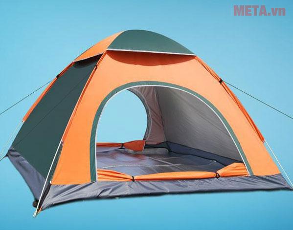 Lều trại có màu cam
