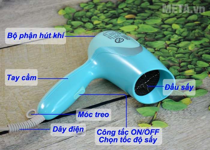 Cấu tạo máy sấy tóc Panasonic EH-ND11