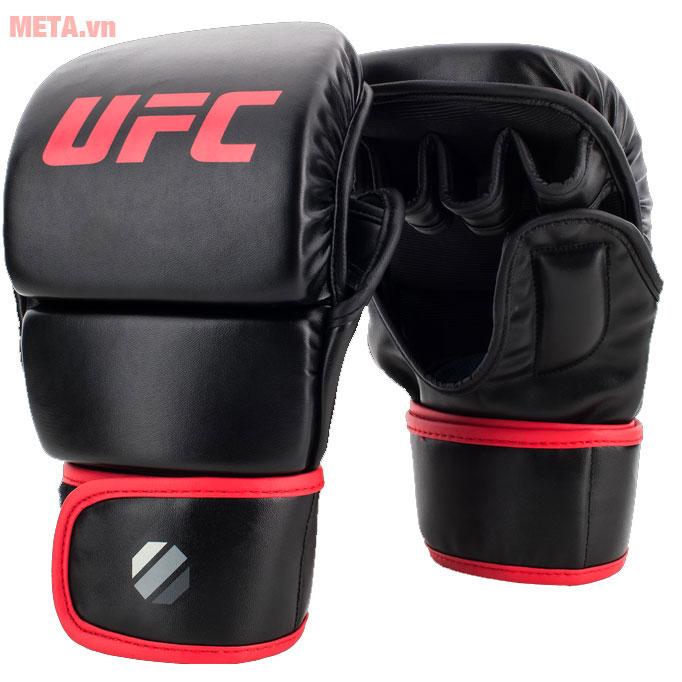 Găng tay MMA màu đen