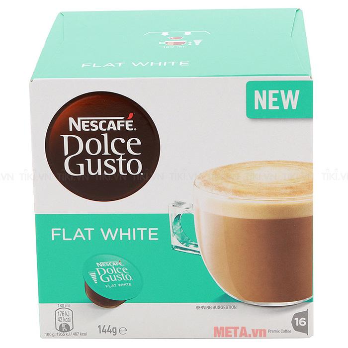 Hộp 16 viên cà phê sữa viên nén