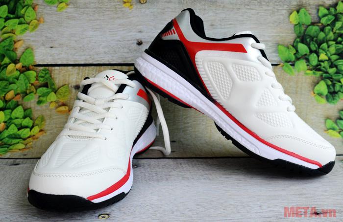 Giày tennis nam Nexgen NX-17541 màu ghi đỏ