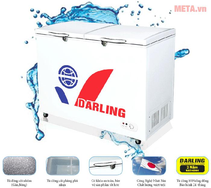 Darling sử dụng công nghệ tiên tiến của Nhật Bản