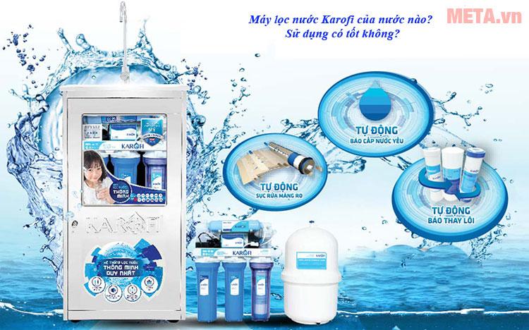 Máy lọc nước Karofi của nước nào?
