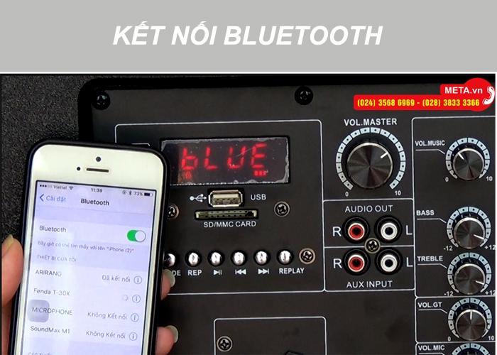 Loa karaoke di động Arirang MK-36 kết nối bluetooth không dây