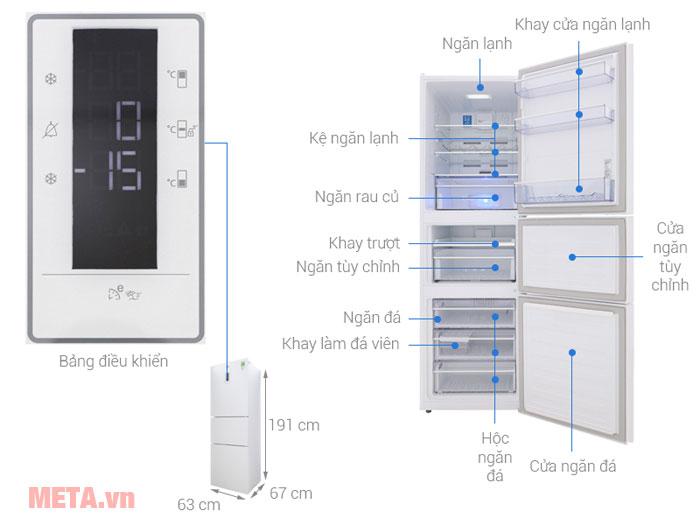 Tủ lạnh Beko Inverter