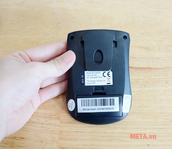 Điều khiển đai massage bụng và cánh tay Bodi-Tek sử dụng 2 pin AAA