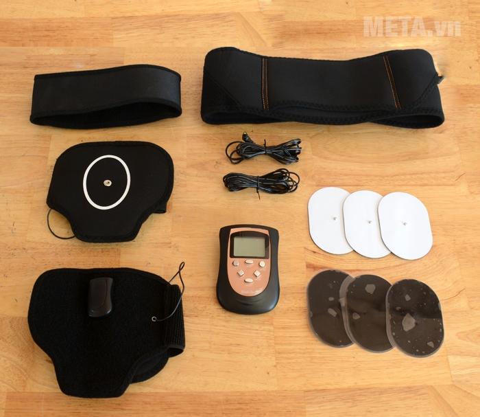Trọn bộ sản phẩm đai massage bụng và cánh tay Bodi-Tek BT-AATB