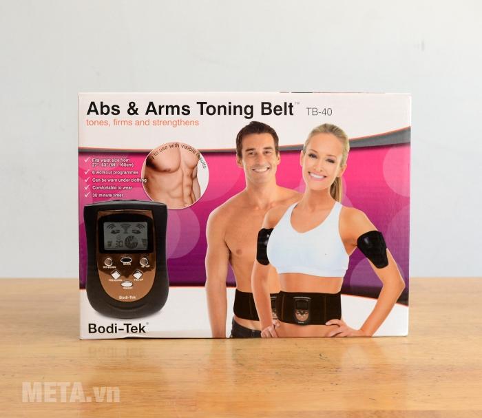 Hộp đựng đai massage bụng và cánh tay Bodi-Tek BT-AATB