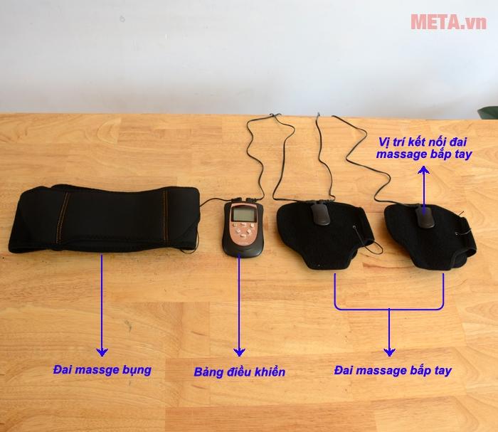 Đai massage Bodi-Tek BT-AATB giúp loại bỏ mỡ thừa nhanh chóng
