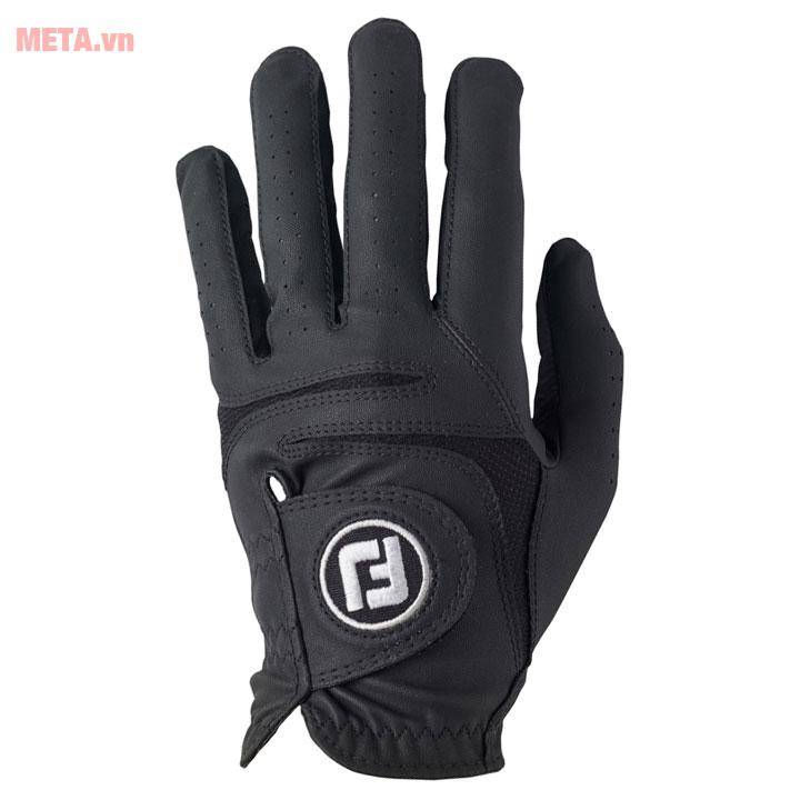 Găng tay golf màu đen