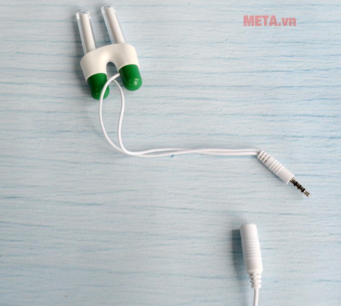 Máy trị viêm mũi dị ứng có dây nguồn tháo rời
