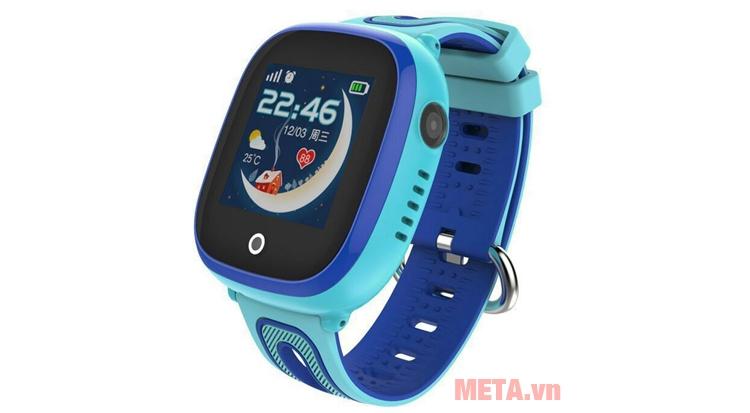 Đồng hồ định vị Wonlex 400X màu xanh
