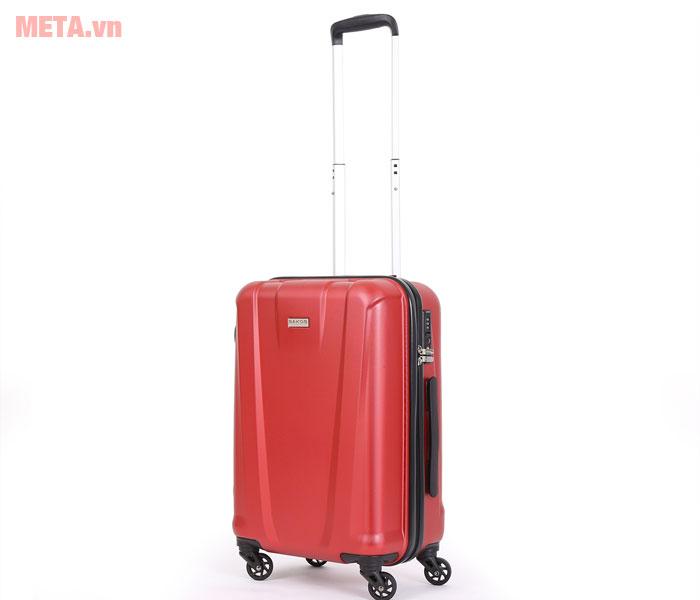 Vali kéo màu đỏ