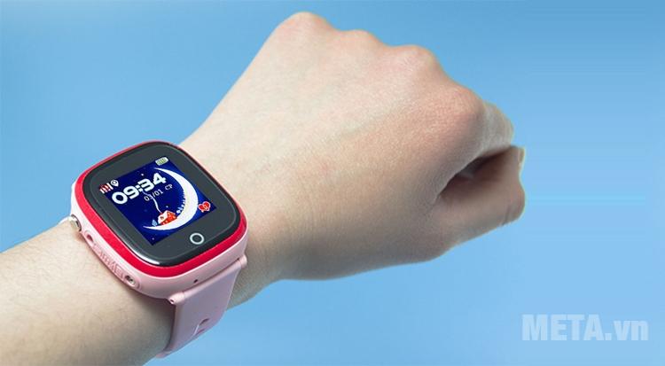 Đồng hồ định vị Wonlex 400X có thiết kế hiện đại