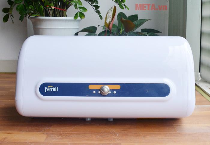 Bình nóng lạnh gián tiếp Ferroli QQ 50L chống giật 2.500W