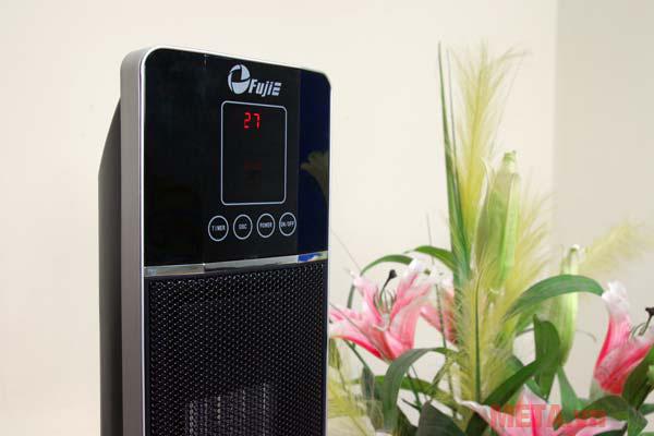 Màn hình hiển thị nhiệt độ giúp người dùng dễ dàng quan sát