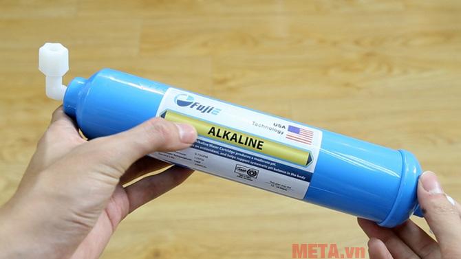 Lõi lọc số 9 có tên là Alkaline giúp bổ sung PH cho nước