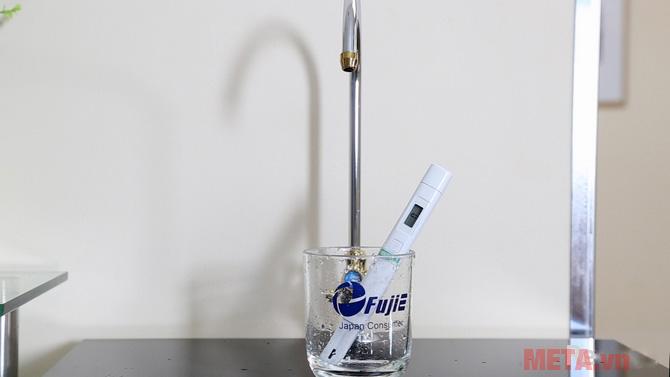 Nước sau khi lọc có độ siêu tinh khiết cao