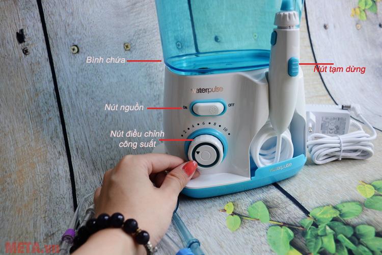 Hình ảnh máy tăm nước gia đình Waterpulse V300G