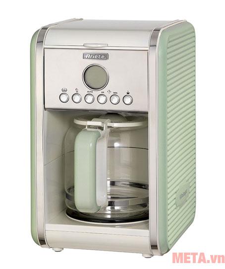 Máy pha cà phê màu xanh lá