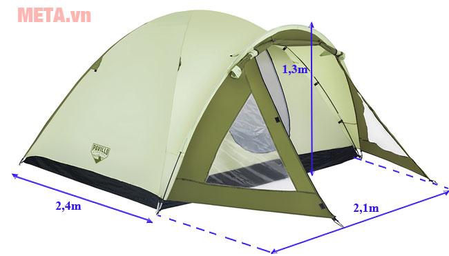 Kích thước lều cắm trại