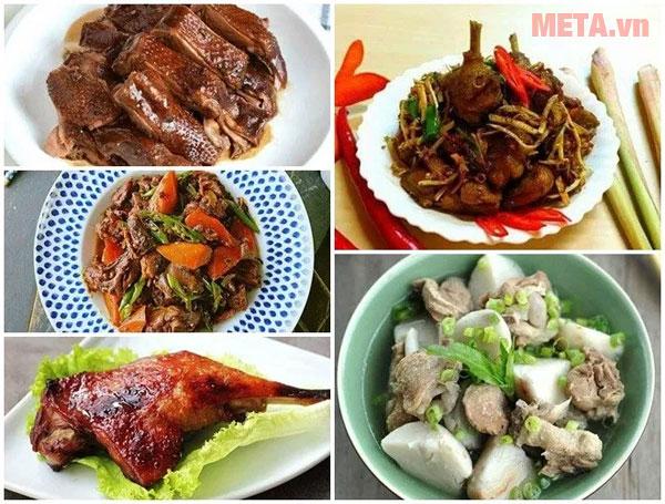 Chế độ nấu đa dạng