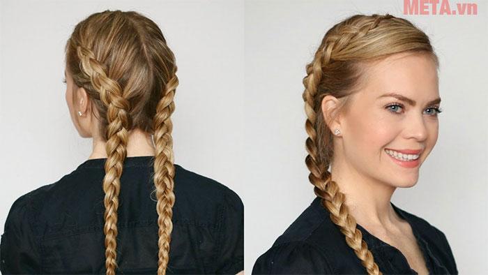 Tạo kiểu tóc xoăn