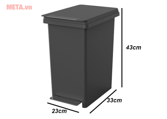 Kích thước thùng rác