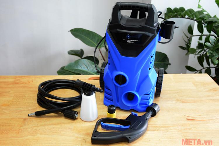 Trọn bộ máy rửa xe gia đình Kachi MK73