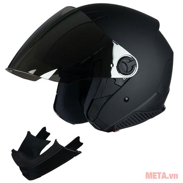 Mũ bảo hiểm Royal M03 trơn