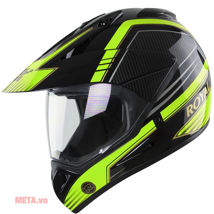 Mũ bảo hiểm Royal M05 màu xanh lá