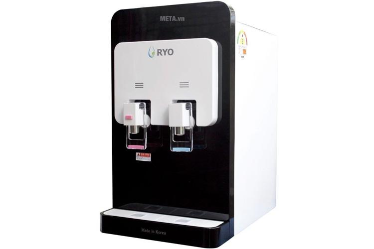 Máy lọc nước RYO nóng lạnh để bàn RP100H màu đen