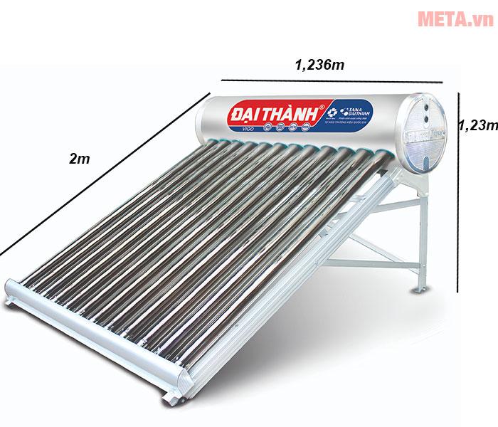 Kích thước của máy nước nóng