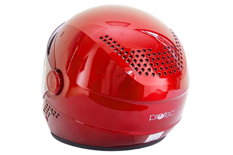 Mũ được trang bị kính chắn gió tiện dụng